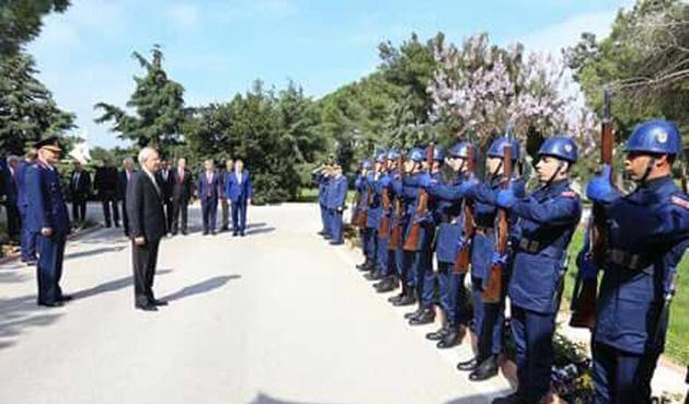 Kılıçdaroğlu'na askeri karşılama sorguda