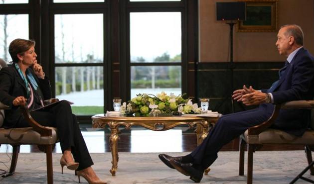 Cumhurbaşkanı Erdoğan CNN'e konuştu