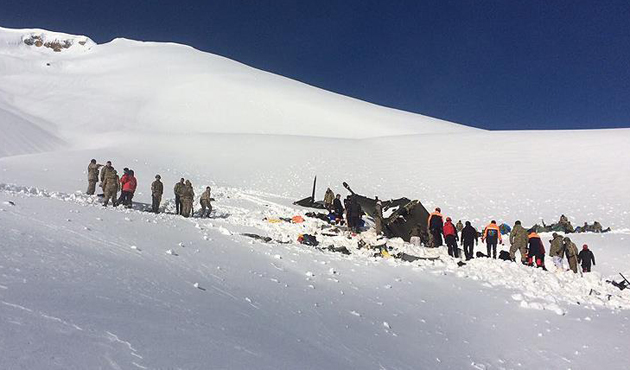 Tunceli'deki helikopter kazası için soruşturma başlatıldı