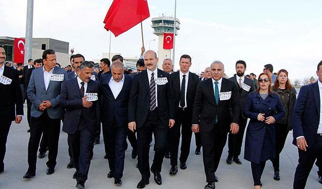 Tunceli'de şehit olan 12 kişi için tören