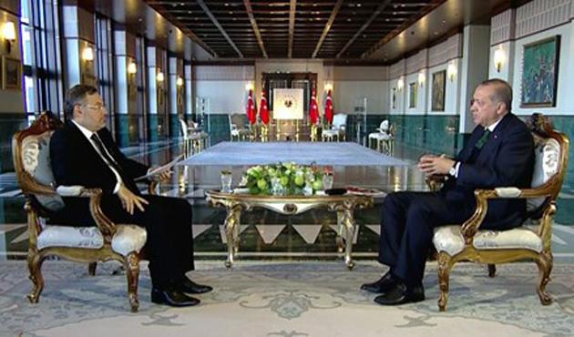 Cumhurbaşkanı Erdoğan El-Cezire'ye konuştu