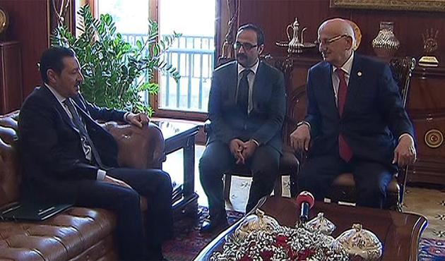 TBMM Başkanı Kahraman, Büyükelçi Hireyci'yi kabul etti