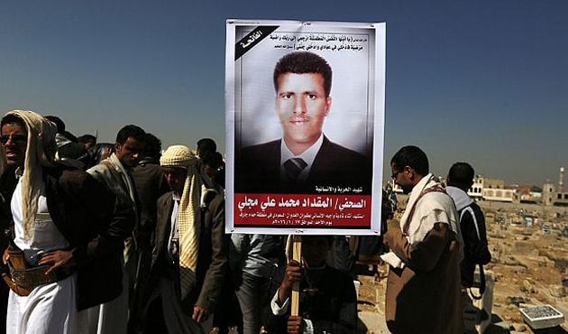 Husiler medya mensuplarını 'idam' ile korkutuyor