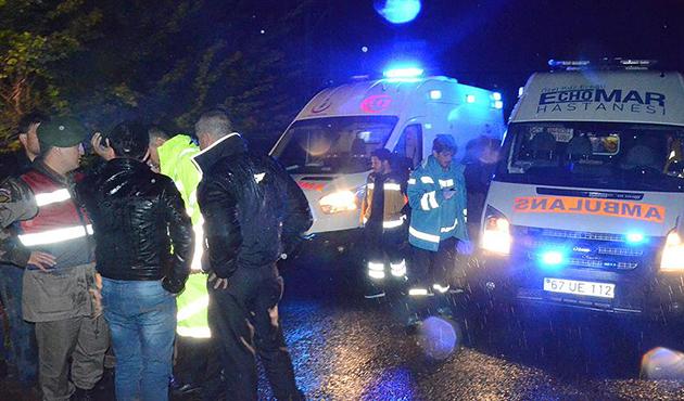 Zonguldak'ta cenaze dönüşü kaza: 6 ölü