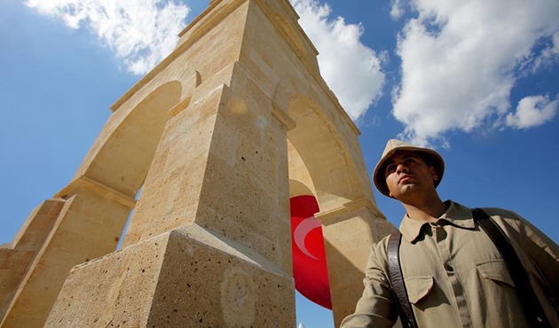 Çanakkale'de 57. Alay Şehitliğinde anma töreni | FOTO