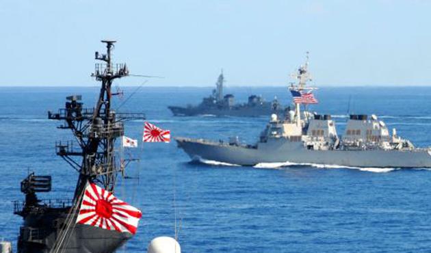 Japonya ve ABD'den ortak deniz tatbikatı