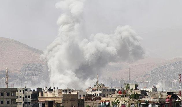 Şam ile İdlib'de yerleşim yerine saldırı: 4 ölü