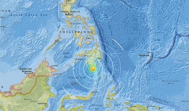 Filipinler'de büyük deprem