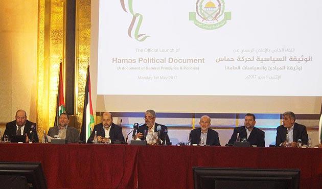 Hamas yeni vizyon belgesini açıkladı