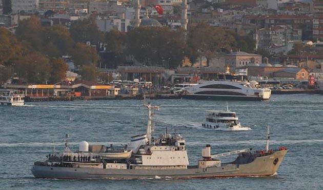 Rus istihbarat gemisinin enkazında çalışma başlatıldı