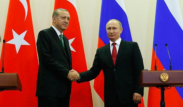 Erdoğan ve Putin 'domates' dışında her konuda anlaştı