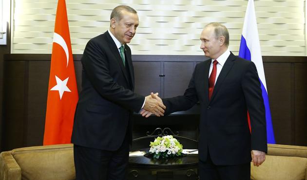 Soçi'deki Erdoğan-Putin görüşmesinden ilk açıklama | VİDEO