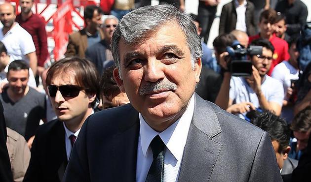 Abdullah Gül'den 'Kudüs Mitingi'ne destek mesajı