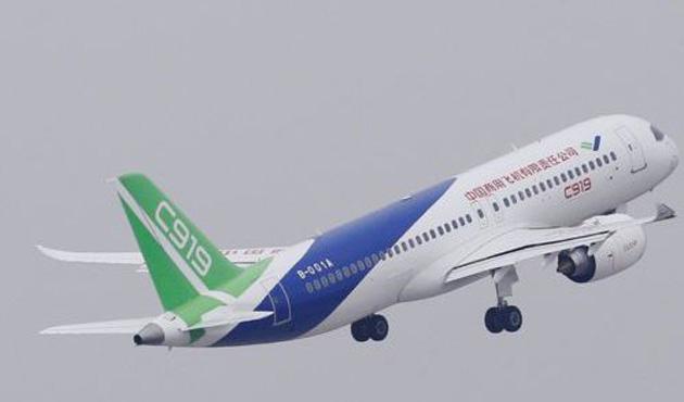 Çin yerli uçağı C919'u havalandırdı