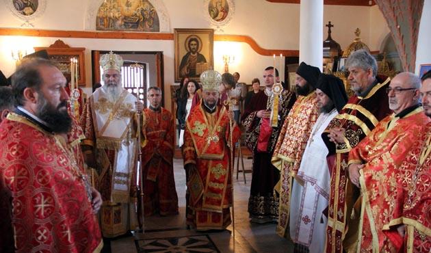 Edirne'de Bulgarlar kilise bayramlarını kutladı