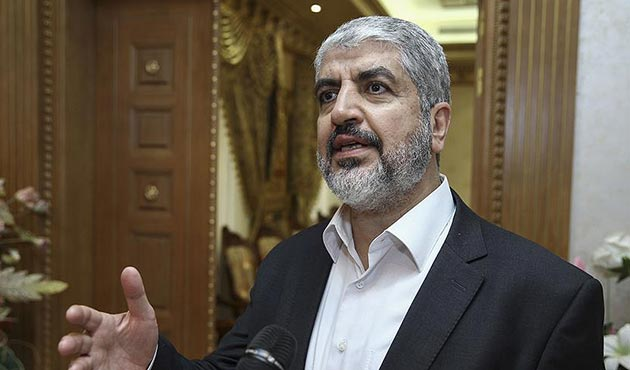 Meşal'den Hamas'ın yeni yönetimi için ilk açıklama