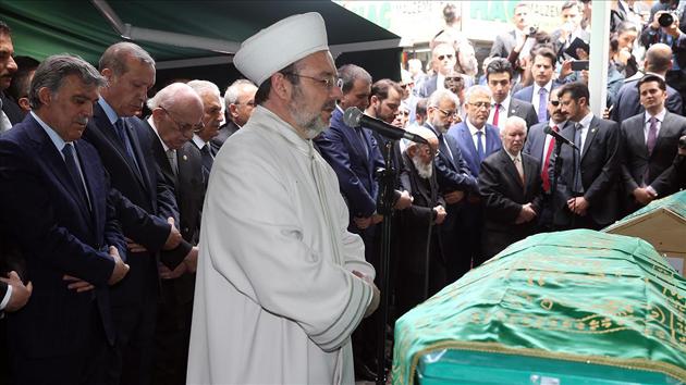 Ahmet Hamdi Gül son yolculuğuna uğurlandı | FOTO