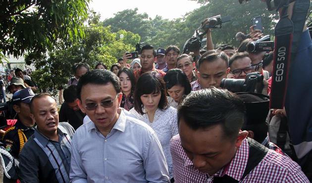 Cakarta'nın Hristiyan valisi Ahok temyizden vazgeçti
