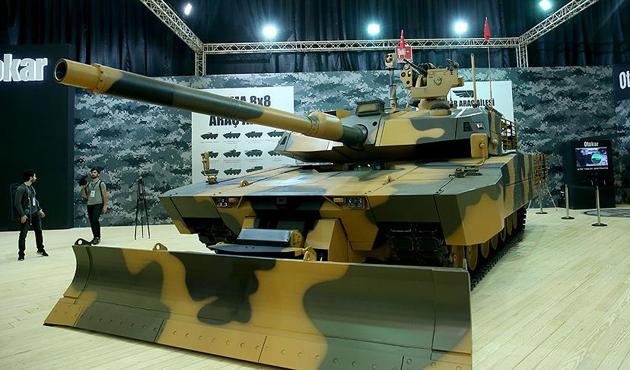 Milli tank Altay gücüne güç kattı