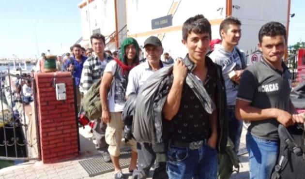 Kırklareli'nde 38 sığınmacı yakalandı