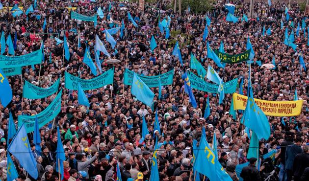 Poroşenko: Kırım, Ukrayna'ya iade edilmeli