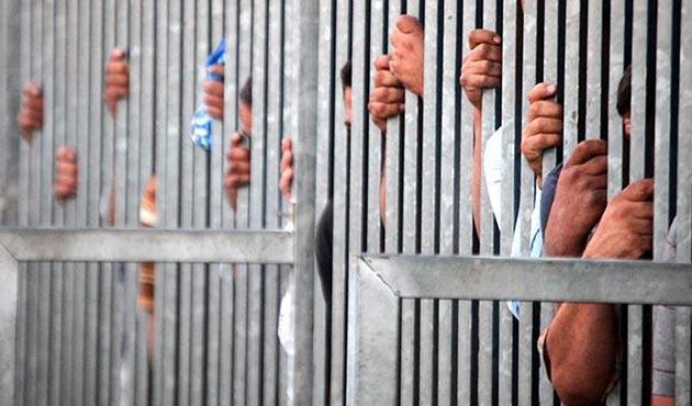 Humus hapishanesinde büyük isyan