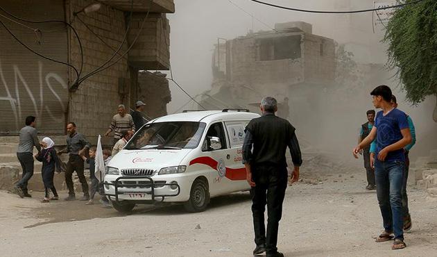 Suriye'de Doğu Guta'ya saldırılarda 6 ölü, 30 yaralı