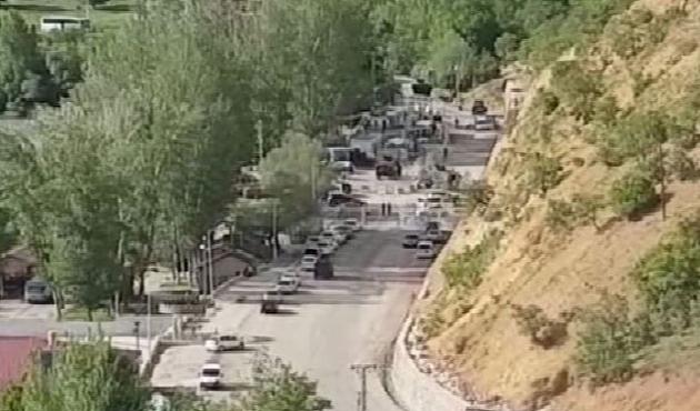 Polis noktasına intihar saldırısı girişimi engellendi