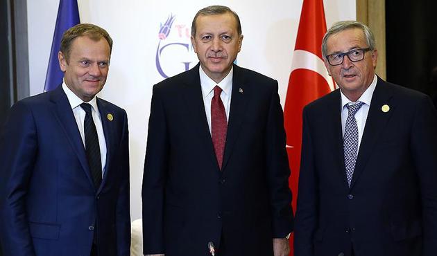 Erdoğan, Juncker ve Tusk ile görüşecek
