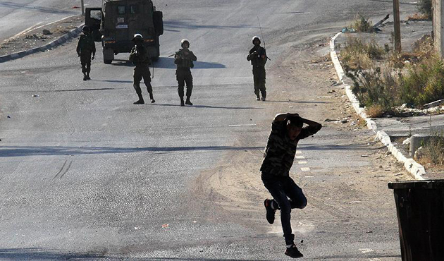 İşgal güçlerinden Batı Şeria'da gazlı müdahale