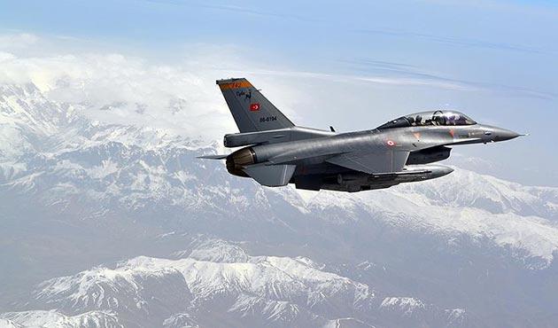 Kandil'deki PKK hedeflerine hava harekatı