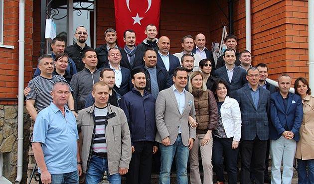 Tataristan'da Türkiyede'ki üniversitelerin mezunları buluştu