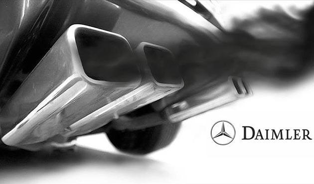 Daimler AG'de dizelde emisyon manipülasyonu şüphesiyle arama