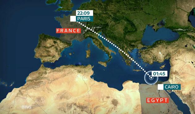 Mısır'a giden uçağın kaybolmasında gözler iPhone'da