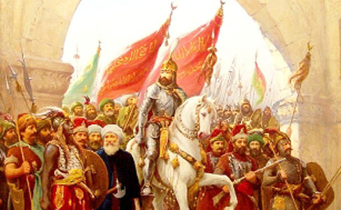 Fatih Sultan Mehmet İstanbul'u fethetti
