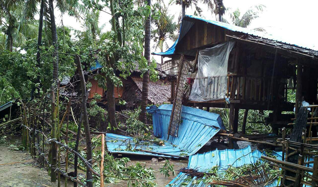 Mora Kasırgası Bangladeş ve Myanmar'ı vurdu