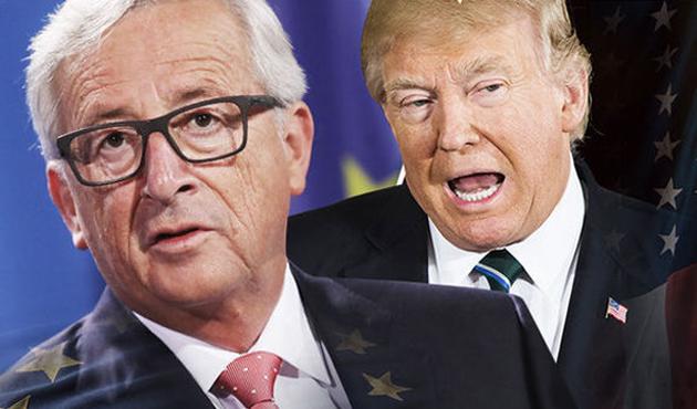 Juncker: ABD karşısında ekonomik çıkarlarımızı savunacağız