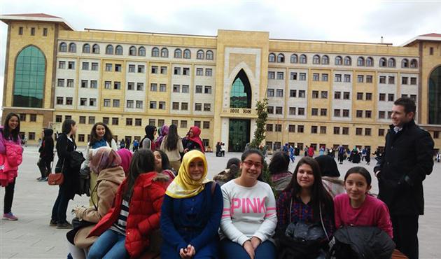 Çubuk'ta 43 öğrenci TEOG'da tüm soruları doğru cevapladı