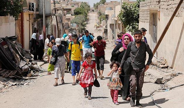 Musul'da 100 fazla çocuğun hayatı tehlikede