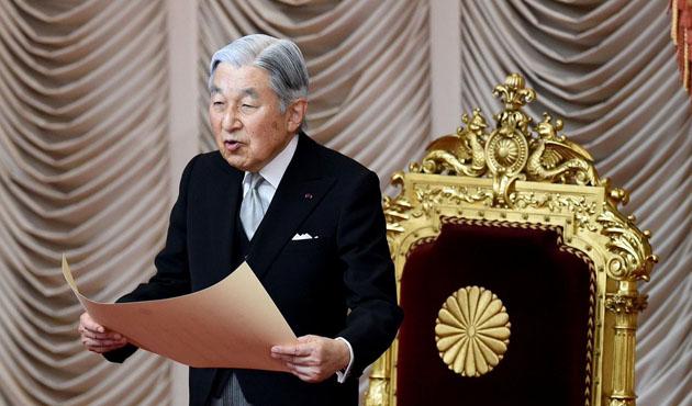 Japonya meclisinden İmparator'un tahttan çekilmesine onay