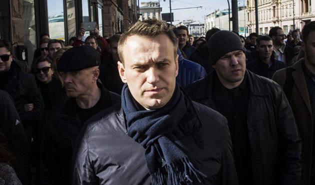 Rus muhalif lider gözaltına alındı