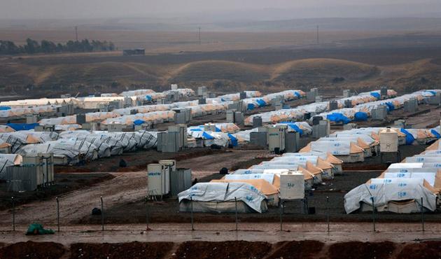 Irak'ta sığınmacı kamplarında 825 kişi gıdadan zehirlendi