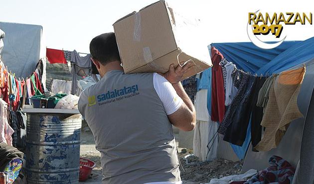 20 bin Suriyeliye Ramazan yardımı