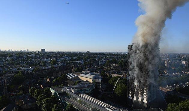 Londra'da 27 katlı binada büyük yangın: 12 ölü | FOTO- VİDEO