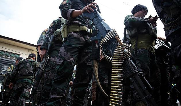 ABD'den Marawi'de Filipinler ordusuna destek