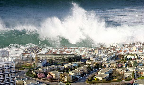 'Tsunami ilahi bir mesaj'