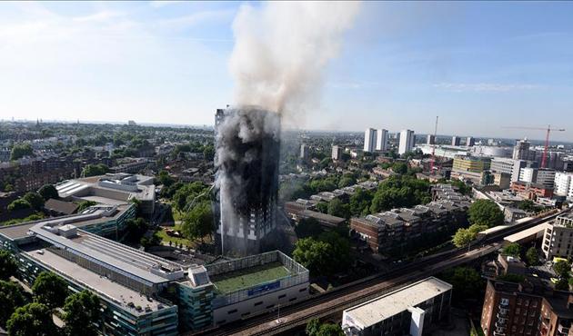 Londra'daki yangında ölü sayısı 30'a yükseldi