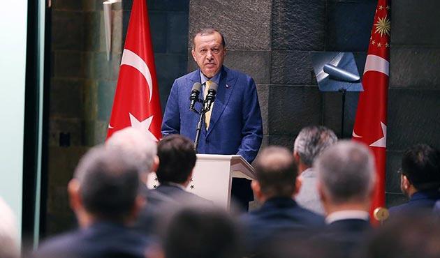 Cumhurbaşkanı Erdoğan: Onlarla, dağa çıkan arasında hiçbir fark yoktur
