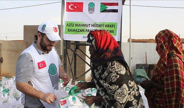 Hüdayi Vakfı Ramazan'da Sudanlıları yalnız bırakmadı