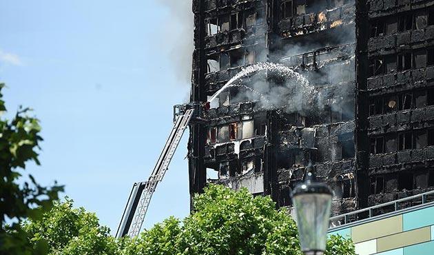 Londra'daki yangında bilanço ağırlaşıyor